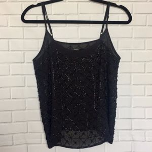 Forever 21 - Black Beaded Tank Top